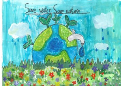 Save_water_Save_earth_drawing