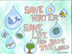 save_water_india_drawing